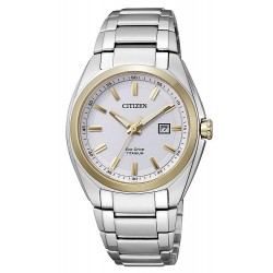 Citizen Damenuhr Super Titanium Eco-Drive EW2214-52A