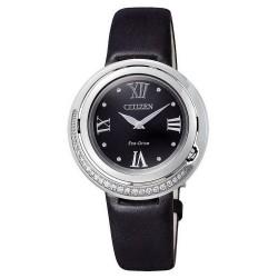 Citizen Damenuhr Elegant Eco-Drive EX1120-02E Diamanten