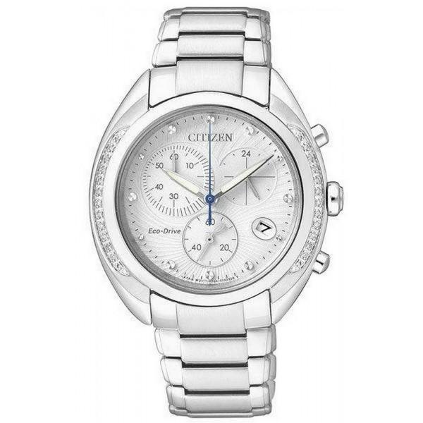 Kaufen Sie Citizen Damenuhr Chrono Eco-Drive FB1381-54A Diamanten