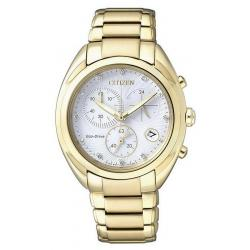 Citizen Damenuhr Elegant Chrono Eco-Drive FB1396-57A Diamanten