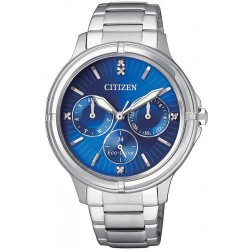 Citizen Damenuhr Elegant Eco-Drive FD2030-51L Multifunktions