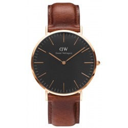 Kaufen Sie Daniel Wellington Herrenuhr Classic Black St Mawes 40MM DW00100124