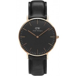 Daniel Wellington Unisexuhr Classic Black Sheffield 36MM DW00100139