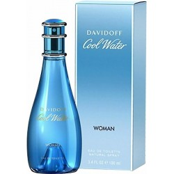 Davidoff Cool Water Damenparfüm Eau de Toilette EDT 100 ml