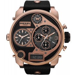 Diesel Herrenuhr Mr. Daddy DZ7261 Chronograph 4 Zeitzonen