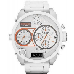 Diesel Herrenuhr Mr. Daddy DZ7277 Chronograph 4 Zeitzonen