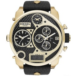 Diesel Herrenuhr Mr. Daddy DZ7323 Chronograph 4 Zeitzonen