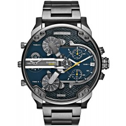 Diesel Herrenuhr Mr. Daddy 2.0 DZ7331 Chronograph 4 Zeitzonen
