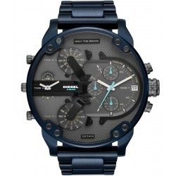 Diesel Herrenuhr Mr. Daddy 2.0 DZ7414 Chronograph 4 Zeitzonen