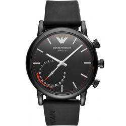 Kaufen Sie Emporio Armani Connected Herrenuhr Luigi ART3010 Hybrid Smartwatch