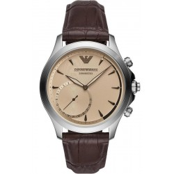 Emporio Armani Connected Herrenuhr Alberto ART3014 Hybrid Smartwatch