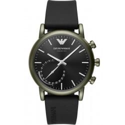 Kaufen Sie Emporio Armani Connected Herrenuhr Luigi ART3016 Hybrid Smartwatch