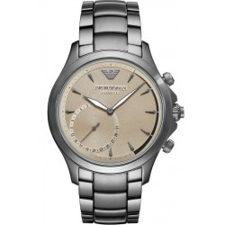 Emporio Armani Connected Herrenuhr Alberto ART3017 Hybrid Smartwatch