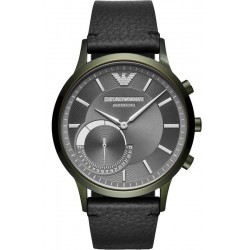 Emporio Armani Connected Herrenuhr Renato ART3021 Hybrid Smartwatch