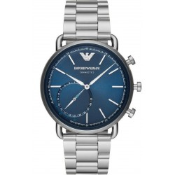 Kaufen Sie Emporio Armani Connected Herrenuhr Aviator ART3028 Hybrid Smartwatch