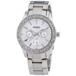 Fossil Damenuhr Stella ES2860 Quarz Multifunktions