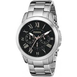 Kaufen Sie Fossil Herrenuhr Grant FS4994 Quarz Chronograph