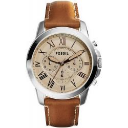 Kaufen Sie Fossil Herrenuhr Grant FS5118 Quarz Chronograph