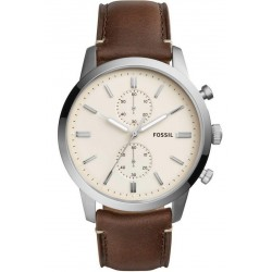 Fossil Herrenuhr FS5350 44MM Townsman Chronograph Quartz
