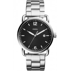Fossil Herrenuhr FS5391 The Commuter Quartz