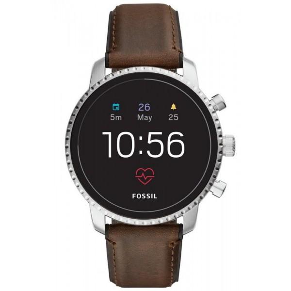 Kaufen Sie Fossil Q Explorist HR Smartwatch Herrenuhr FTW4015