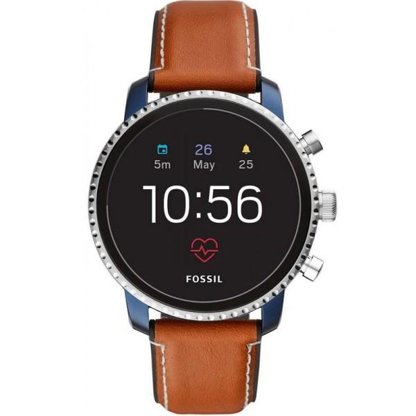 Kaufen Sie Fossil Q Herrenuhr Explorist HR FTW4016 Smartwatch