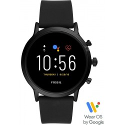 Fossil Q The Carlyle HR Smartwatch Herrenuhr FTW4025