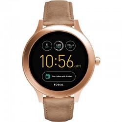 Fossil Damenuhr FTW6005 Q Venture Smartwatch Digital Touchscreen