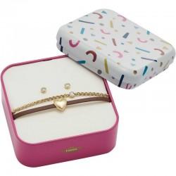 Kaufen Sie Fossil Damenarmband + Ohrringe Vintage Motifs JF03050710