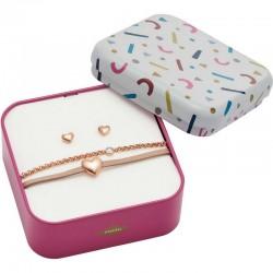 Kaufen Sie Fossil Damenarmband + Ohrringe Vintage Motifs JF03051791