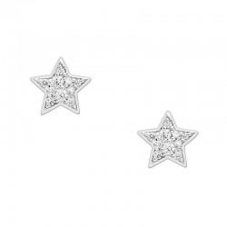 Kaufen Sie Fossil Damenohrringe Sterling Silver JFS00152040 Stern