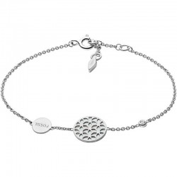 Fossil Damenarmband Sterling Silver JFS00463040 Perlmutt