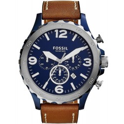 Fossil Herrenuhr Nate JR1504 Quarz Chronograph