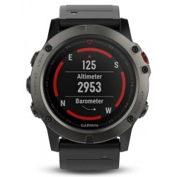 Kaufen Sie Garmin Herrenuhr Fēnix 5X Sapphire 010-01733-01 GPS Multisport Smartwatch