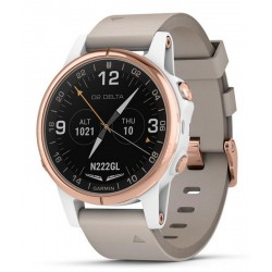 Kaufen Sie Garmin Herrenuhr D2 Delta S Sapphire Aviator 010-01987-31 Aviation GPS Smartwatch