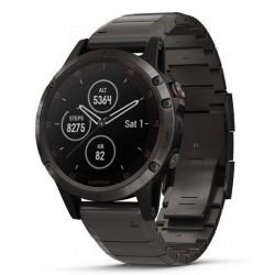 Kaufen Sie Garmin Herrenuhr Fēnix 5 Plus Sapphire 010-01988-03 GPS Multisport Smartwatch