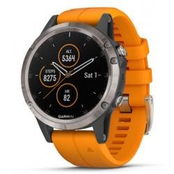 Kaufen Sie Garmin Herrenuhr Fēnix 5 Plus Sapphire 010-01988-05 GPS Multisport Smartwatch
