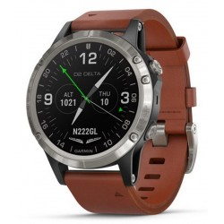 Kaufen Sie Garmin Herrenuhr D2 Delta Sapphire Aviator 010-01988-31 Aviation GPS Smartwatch