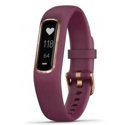 Garmin Unisexuhr Vívosmart 4 010-01995-01 Fitness Smartwatch S/M