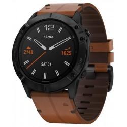 Garmin Herrenuhr Fēnix 6X Sapphire 010-02157-14 GPS Multisport Smartwatch kaufen
