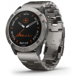 Garmin Herrenuhr Fēnix 6X Pro Solar 010-02157-24 GPS Multisport Smartwatch kaufen