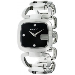 Kaufen Sie Gucci Damenuhr G-Gucci Medium YA125406 Diamanten Quartz