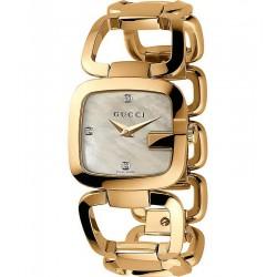 Kaufen Sie Gucci Damenuhr G-Gucci Small YA125513 Diamanten Perlmutt