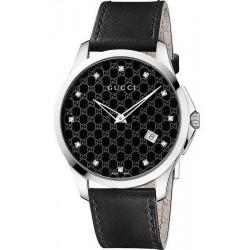 Kaufen Sie Gucci Unisexuhr G-Timeless YA126305 Diamanten Quartz