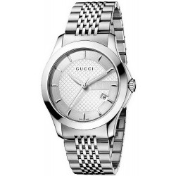 Kaufen Sie Gucci Unisexuhr G-Timeless Medium YA126401 Quartz