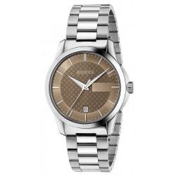 Kaufen Sie Gucci Unisexuhr G-Timeless Medium YA126445 Quartz