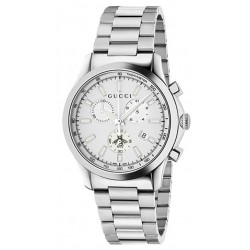 Kaufen Sie Gucci Unisexuhr G-Timeless Medium YA126472 Quarz Chronograph