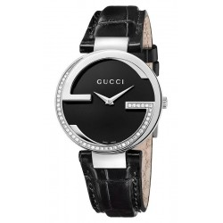 Gucci Damenuhr Interlocking Large YA133305 Diamanten Quartz