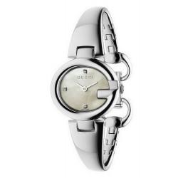 Gucci Damenuhr Guccissima Small YA134504 Diamanten Perlmutt Quartz