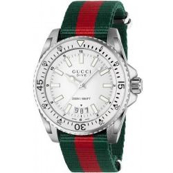 Kaufen Sie Gucci Herrenuhr Dive XL YA136207 Quartz